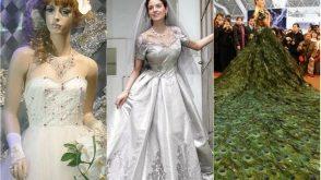 Top 9 Bộ váy cưới đắt nhất thế giới