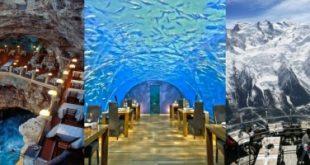 Top 8 Nhà hàng có view đẹp nhất trên thế giới
